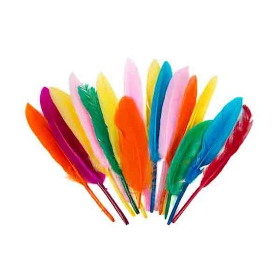 KullanAtMarket Tek Tüy Renkli 15 Adet
