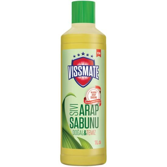 Vissmate Sıvı Arap Sabunu Beyaz Sabun Kokulu 1 Lt