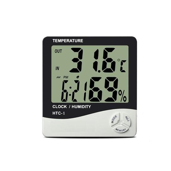 Yopigo Kapında Masaüstü Dijital Termometre Nem Ölçer Higrometre