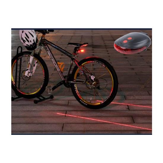 Toptancı Kapında Lazer Güvenlik Şeritli Bisiklet Stop Lambası