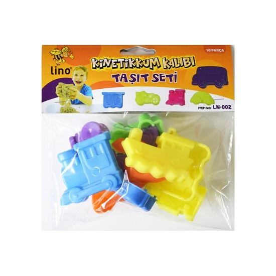 Lino Ln-002 Kinetik Kum Kalıbı Taşıt Seti