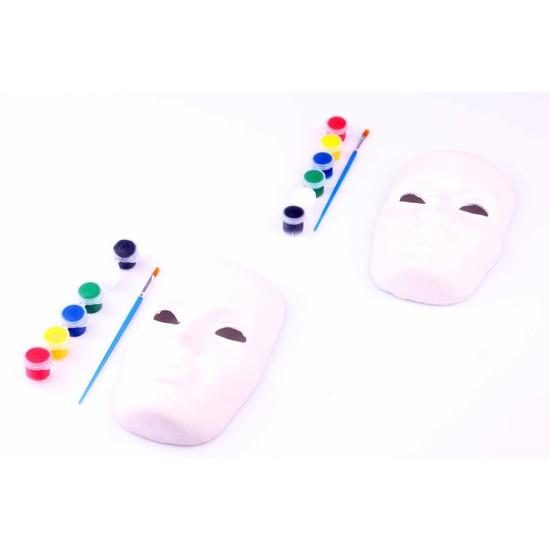 2'li Yüz Maske Boyama Paketi