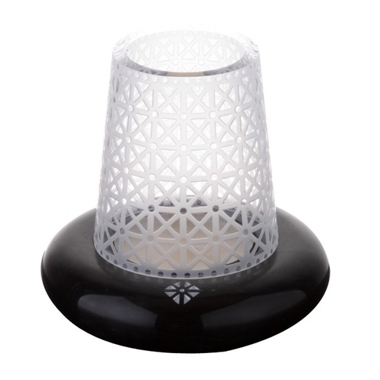 Arte Home Alacahöyük Siyah Gümüş Mumluk
