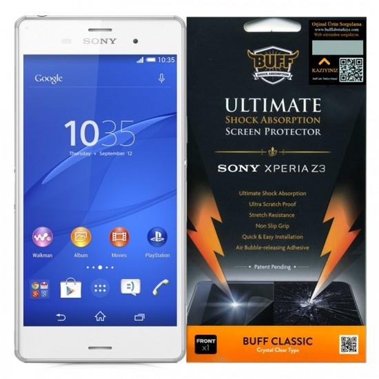 Buff Sony Xperia Z3 Darbe Emici Ekran Koruyucu Film
