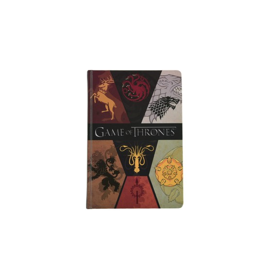 Game Of Thrones A5,Sert Kapaklı,Lastikli,120 y. Defter