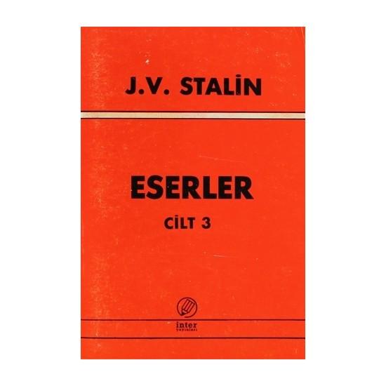 J. V. Stalin Eserler Cilt 3