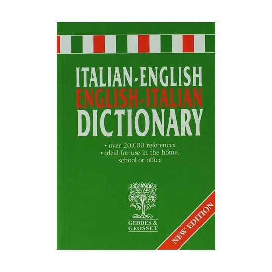 Italian - English / English -Italian Dictionary