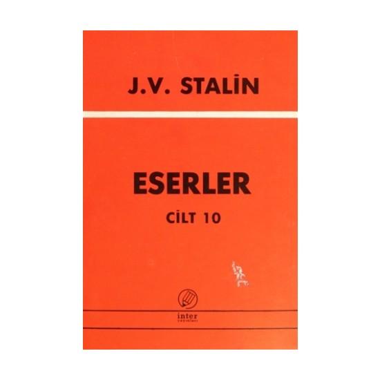 J. V. Stalin Eserler Cilt 10