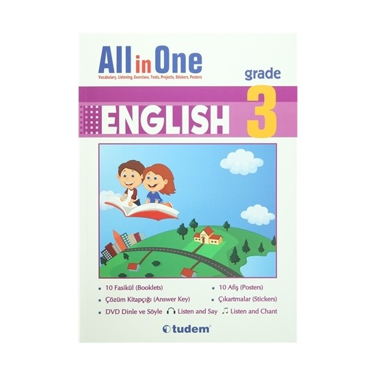 English 3 Grade All in One