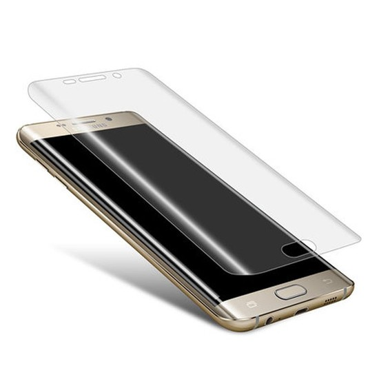Samsung Galaxy S7 Edge Nano Pet Kavisli Koruyucu cin36cl