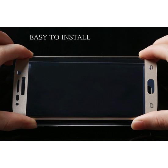 Samsung Galaxy S6 Edge Kavisli Pet Koruma Oval cin23cl