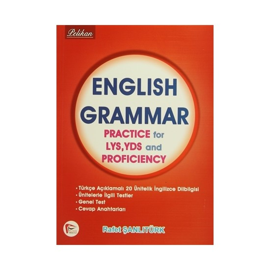 English Grammar Practice for LYS YDS and Proficiency
