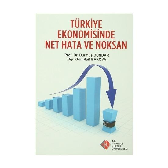 Türkiye Ekonomisinde Net Hata ve Noksanlar