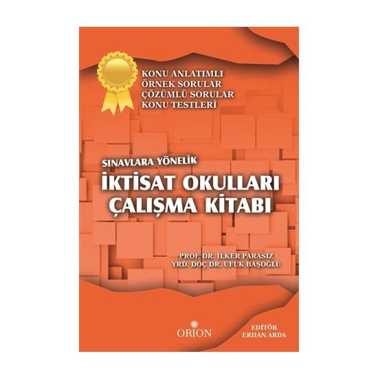 İktisat Okulları Çalışma Kitabı