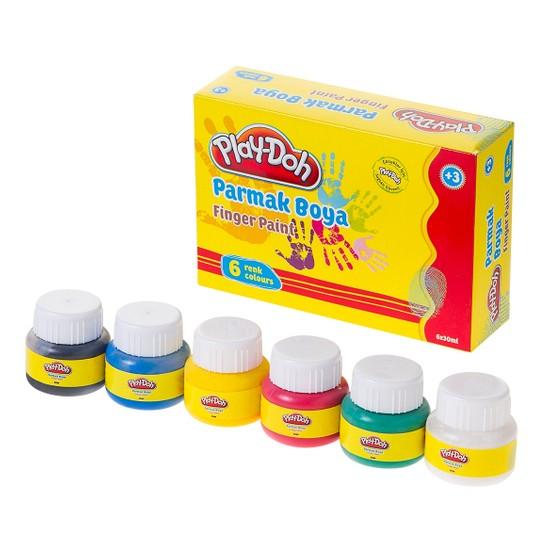 Play-Doh Parmak Boyası 6 Renk 30 Ml Play-Pr001