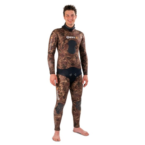 Mares Instinct Camo Brown 35 Serbest Dalış Elbisesi (Open Cell)