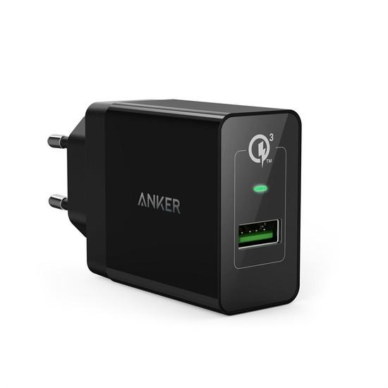Anker PowerPort 1 18W QuickCharge 3.0 Hızlı Şarj Seyahat Şarj Cihazı