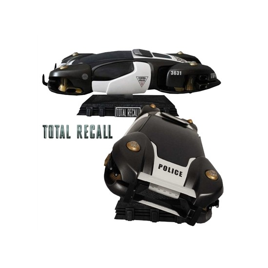 Hollywood Collectibles Total Recall: Flying Police Car Statue