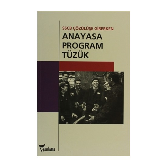 Anayasa, Program, Tüzük