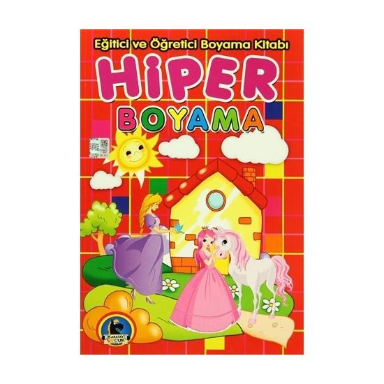 Hiper Boyama - Eğitici ve Öğretici Boyama Kitabı