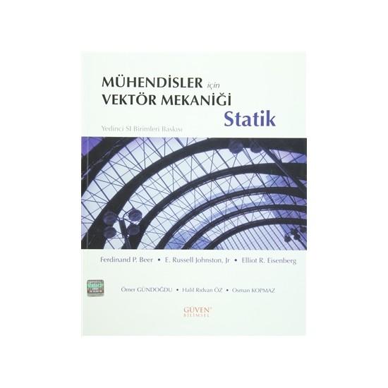 Mühendisler İçin Vektör Mekaniği: Statik - E. Russekk Johnston Jr