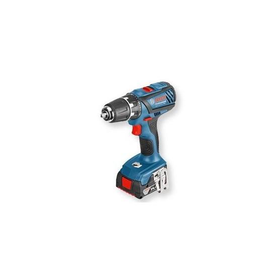 Bosch Gsr 14,4-2-Lı Plus Çift Akülü L-Boxx Çantalı Vidalama
