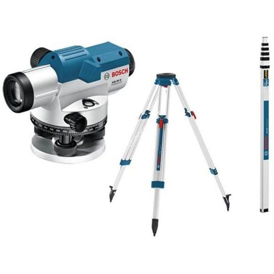 Bosch Gol 26 D Optik Nivelman (Bt 160 Tripod+Gr 500 Mira)