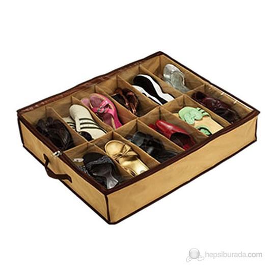 Shoes Under Portatif Ayakkabı Saklama Hurcu