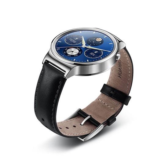 Huawei Watch Stainless Çelik Gövde ve Deri Kayış