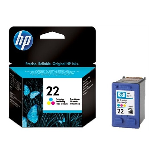 Hp 22 Renkli Deskjet 3920/F2180/D1360 Orjinal Kartuş