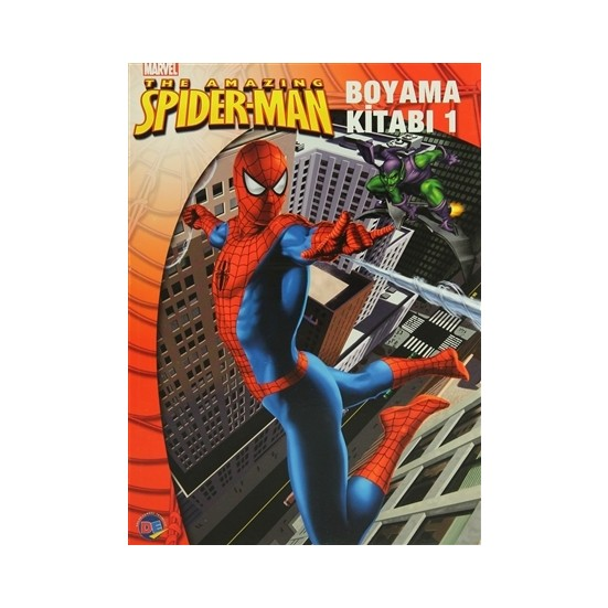 Spiderman Boyama Kitabi 1 Fiyati Taksit Secenekleri