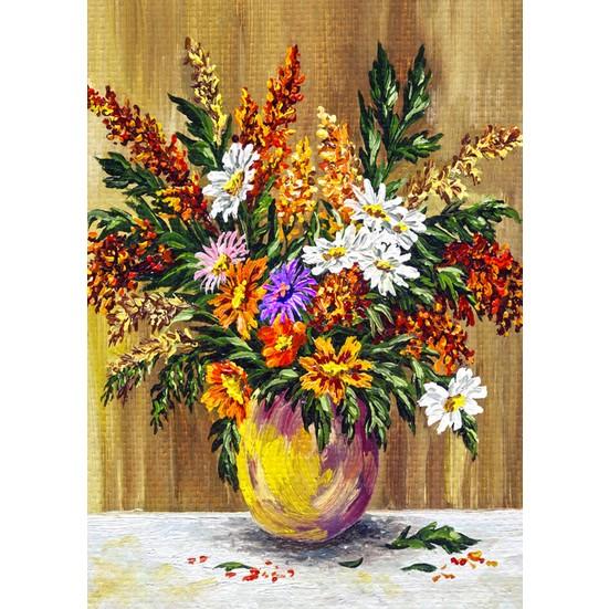 Duvar Tasarım DC 2155 Oil Paint Kanvas Tablo - 50x70 cm