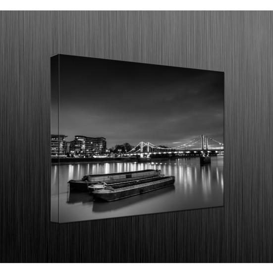 Duvar Tasarım DLC6032 Led Işıklı Kanvas Tablo - 60x40 cm