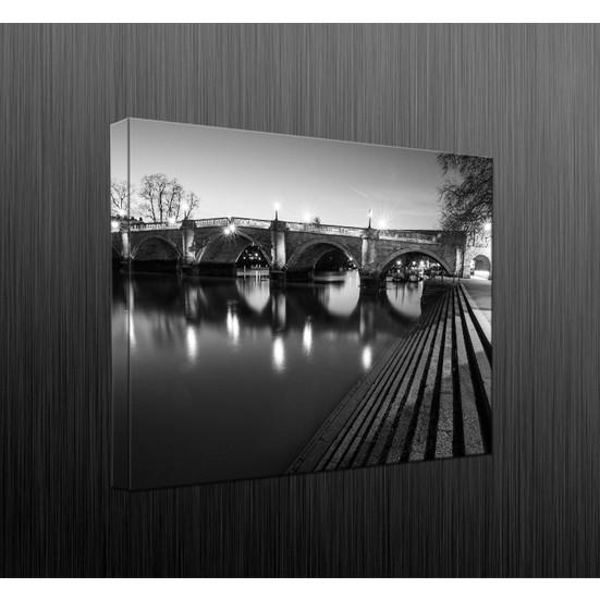 Duvar Tasarım DLC6034 Led Işıklı Kanvas Tablo - 60x40 cm