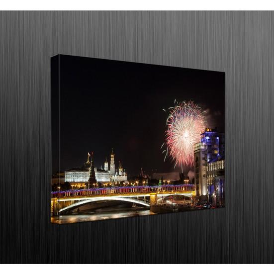 Duvar Tasarım DLC6042 Led Işıklı Kanvas Tablo - 60x40 cm