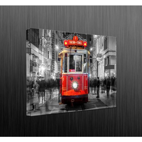 Duvar Tasarım DLC6050 Led Işıklı Kanvas Tablo - 60x40 cm