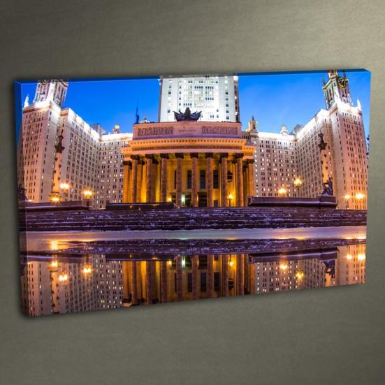 Duvar Tasarım DLC 3002 Ledli Kanvas Tablo - 50x70 cm