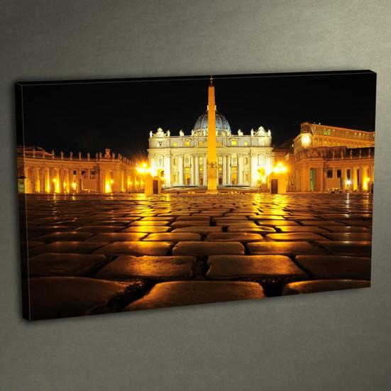Duvar Tasarım DLC 3024 Ledli Kanvas Tablo - 50x70 cm