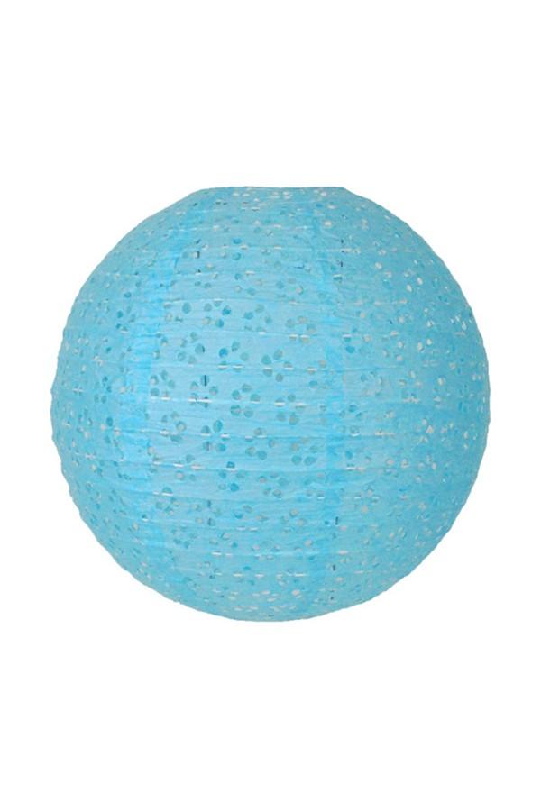 1 Piece Lace Blue Lantern kullanatmarket