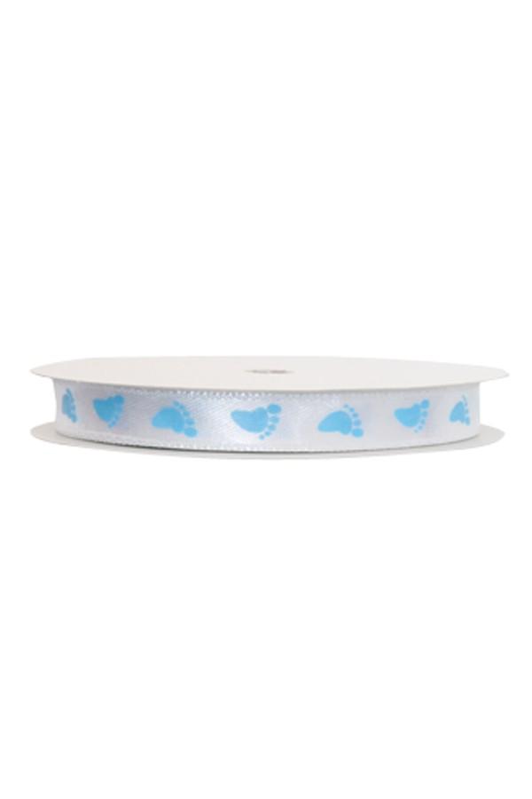 1 Piece Blue Satin Ribbon feet kullanatmarket