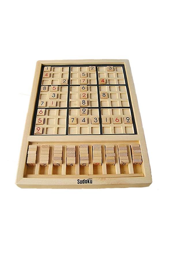 Blueway Intelligence Wooden Sudoku Educational Development Math Game