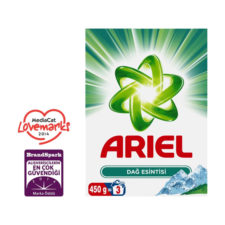 4adafba7f70f7 Ariel Toz Çamaşır Deterjanı Dağ Esintisi 450 gr Fiyatı