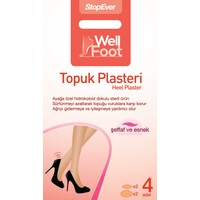 Stopever Well Foot Topuk Plasteri-Steril Ve Tekli