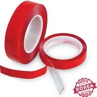 Carat Kırmızı Çift Taraflı Bant ( 2cm x 5mt ) Made İn Korea