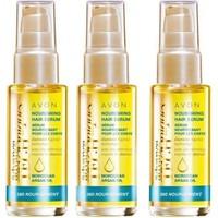 Avon Fas Argan Yağı İçeren Durulanmayan Saç Serumu 30 Ml-3 Adet