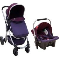 Baby2go Power Plus Travel Sistem Bebek Arabası Mor