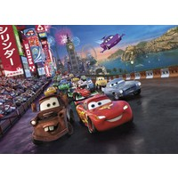 Disney Edition 4-401 Cars Race Disney Duvar Posteri