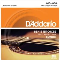 Daddarıo Ez900 Akustik Tel Set Extra Light (.010) Ez900