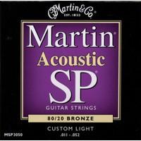 Martin Msp3050 011 Akustik Gitar Teli Custom Lıght