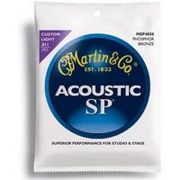 Martin Msp4050 Akustik Gitar Teli 011- 052